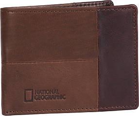 Портмоне кожаное National Geographic N146501;33 коричневый