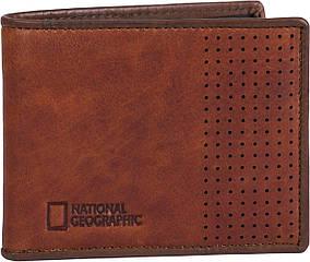 Портмоне кожанное National Geographic N148502;33 коричневый