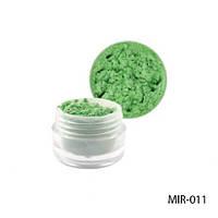 Светло-зелёный пигмент для геля и акриловой пудры