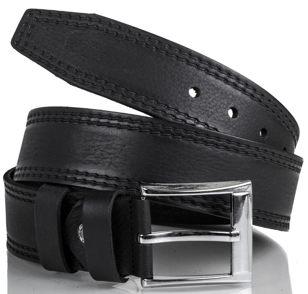 Солидный кожаный мужской ремень Y.S.K. SHI3000-2