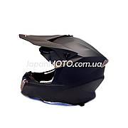Шлем кроссовый FGN (size: L, черный матовый)
