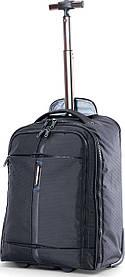 Рюкзак Дорожный на колесах с отделом для ноутбука CARLTON Wallstreet 904J026;01 черный