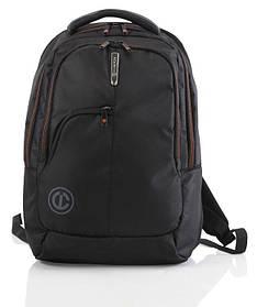 Рюкзак повседневный (Городской) с отделением для ноутбука CARLTON Baron 911J120;01 черный