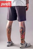 Трикотажные шорты мужские летние Punch - Trick, Dark Grey