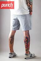 Трикотажные шорты мужские летние Punch - Trick, Grey