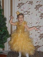Шикарный костюм золотой рыбки. Костюм рыбка золотаяпрокат, фото 1