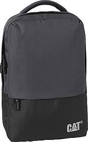 Рюкзак повседневный (Городской) с отделением для ноутбука CAT Mochilas 83730;369 темно-серый