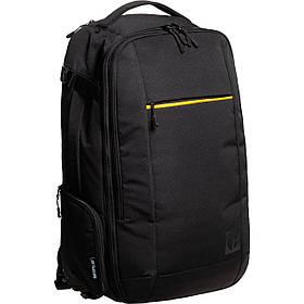 Рюкзак-сумка повседневный (Городской) с отделением для ноутбука CAT Code 83766;01 черный