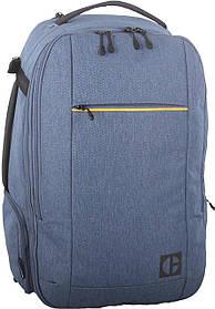 Рюкзак-сумка повседневный (Городской) с отделением для ноутбука CAT Code 83766;1012 синий