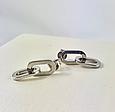 Срібні сережки OR113-б, фото 6