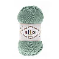 Alize Cotton Gold Hobby (Алізе Котон Голд Хобі) № 15 зелений (Пряжа бавовна, нитки для в'язання)