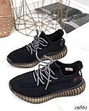 Кросівки жіночі чорні з текстилю, фото 5