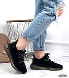 Кросівки жіночі чорні з текстилю, фото 6