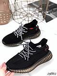 Кросівки жіночі чорні з текстилю, фото 8