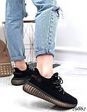 Кросівки жіночі чорні з текстилю, фото 7