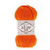 Alize Cotton Gold Hobby (Алізе Котон Голд Хобі) № 37 орандевый (Пряжа бавовна, нитки для в'язання)
