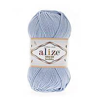 Alize Cotton Gold Hobby (Алізе Котон Голд Хобі) № 40 блакитний (Пряжа бавовна, нитки для в'язання)