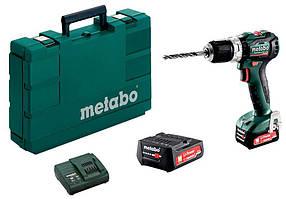 Акумуляторний ударний шуруповерт Metabo SB 12 BL + 2 акб + з/у + кейс КОД: 601077500