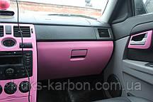 Пленка 3d карбон розовая 1,27 Retner