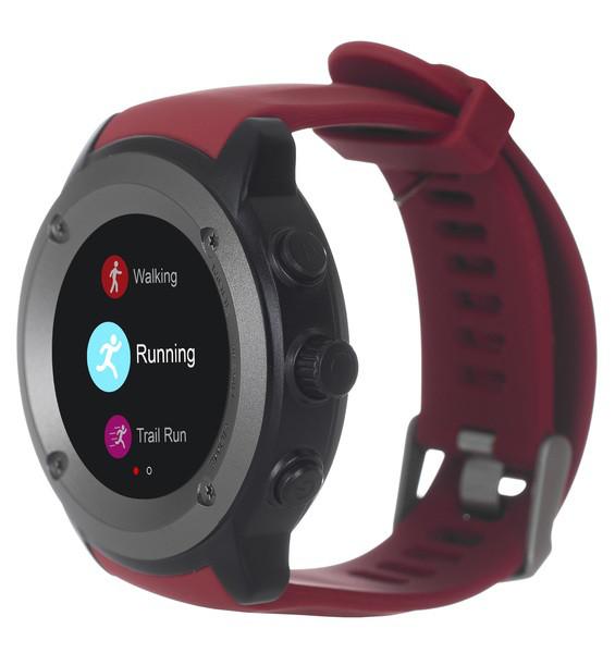 Спортивний смарт-годинник ERGO SPORT GPS HR WATCH S010 RED