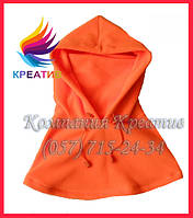 Флисовый шарф капюшон с возможностью нанесения логотипа (от 50 шт.)
