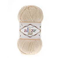 Alize Cotton Gold Hobby (Алізе Котон Голд Хобі) № 67 молочно-бежевий (Пряжа бавовна, нитки для в'язання)