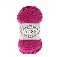 Alize Cotton Gold Hobby (Алізе Котон Голд Хобі) № 149 фуксія (Пряжа бавовна, нитки для в'язання)