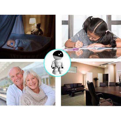 Камера відеоспостереження (камера робот) IP камера (бездротовий wifi), фото 2