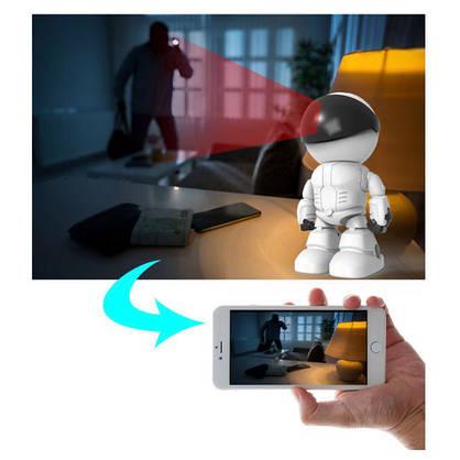 Камера відеоспостереження (камера робот) IP камера (бездротовий wifi), фото 3
