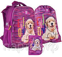 Набор первоклассника Kite рюкзак + пенал + сумка для обуви Rachael Hale