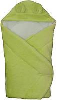 """Конверт - одеяло для новорожденного с капюшоном Махровый  006  """"Duetbaby"""""""