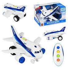 """Літак інтерактивний """"Авіатор"""" WY720B"""