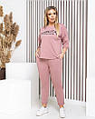 Летний модный спортивный костюм  в расцветках  42-60 размер, фото 2