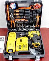 Шуруповерт DeWALT DCD791 (24V 5A/h Li-Ion) c набором инструментов. Аккумуляторный шуруповёрт Деволт