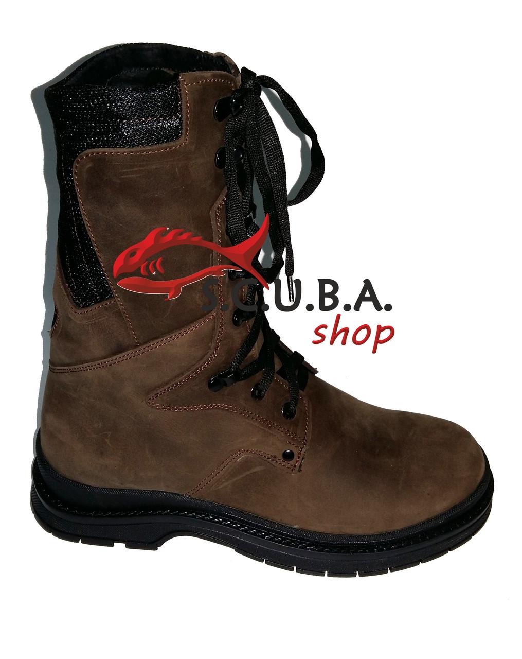 Зимние мужские ботинки на натуральном меху