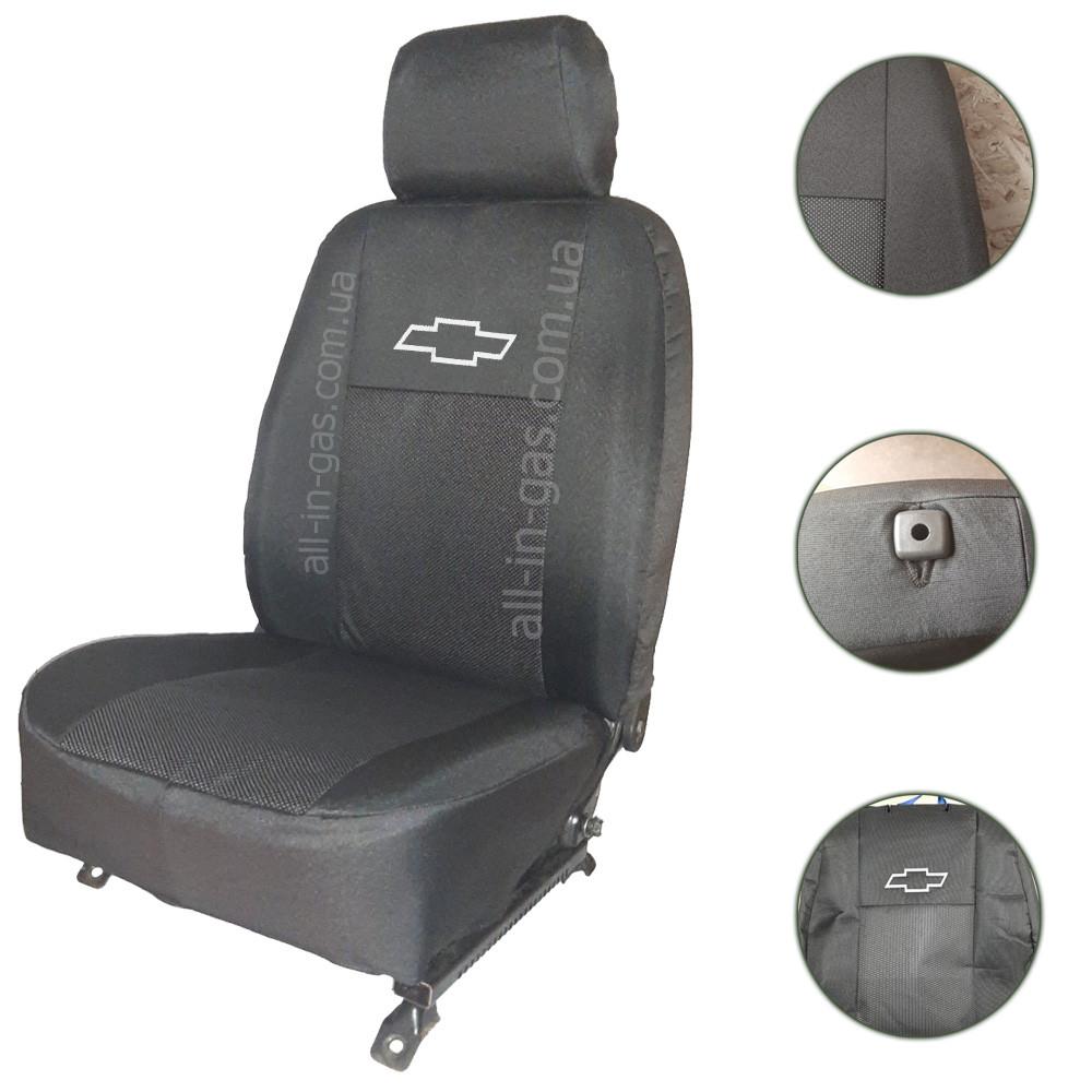 """Чехлы на сиденья Chevrolet Lacetti (седан) 2003- / автомобильные чехлы Шевроле Лачетти """"Prestige"""" стандарт"""
