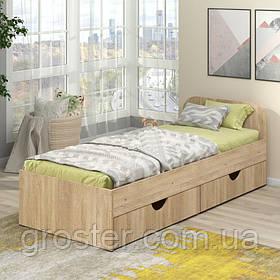 Дитячий/підлітковий ліжко Соня-1 з шухлядами для білизни