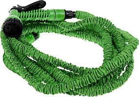 Шланг для поливу X HOSE 30 м з розпилювачем Green