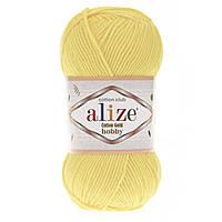 Alize Cotton Gold Hobby (Алізе Котон Голд Хобі) № 187 лимонний (Пряжа бавовна, нитки для в'язання)