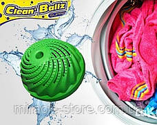 Шарик мячик для стирки белья Clean Ballz, фото 3