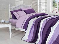 Постельное белье с пледом на кровать комплект NIRVANA SET евро размер