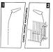 Опора для балдахина Польша Stelaz Baby стойка подпора кронштейн подставка для балдахина на в детскую кроватку, фото 2