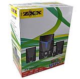Акустична система з сабвуфером ZX-4800BT (USB/Bluetooth/FM-радіо), фото 5