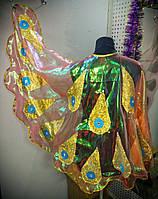 Жар-птица набор № 1 (крылья+головной убор) из радужной органзы р.140-160