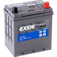 Аккумулятор автомобильный 38Ah-12v Exide PREMIUM ea386 (187х127х220),R,EN300,Азия
