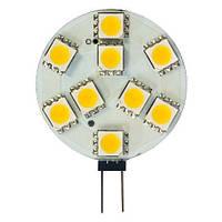 Лампа светодиодная для мебельных светильников Feron LB-16 12LED G4 2w 12v  6000K