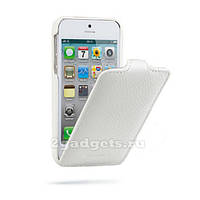 Чехол книжка для iPhone 5 в белом цвете. Доставка по Днепропетровску курьером.