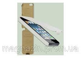 Чехол книжка для iPhone 5 в белом цвете. Доставка по Днепропетровску курьером., фото 2