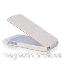 Чехол книжка для iPhone 5 в белом цвете. Доставка по Днепропетровску курьером., фото 3