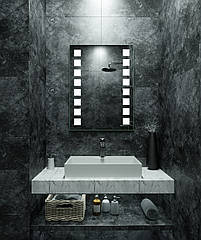Зеркало LED (60*80*2,5см) VZ-AL-D26